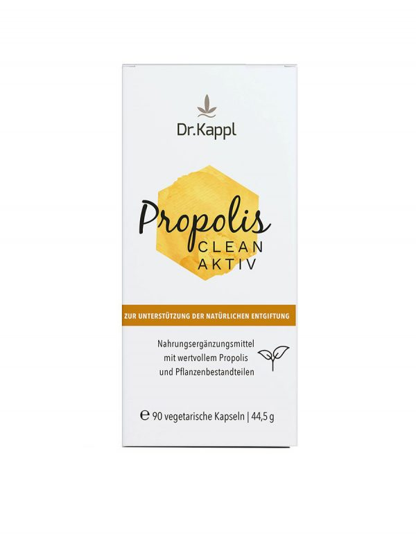 Mit Propolis clean aktiv den Körper natürlich entgiften