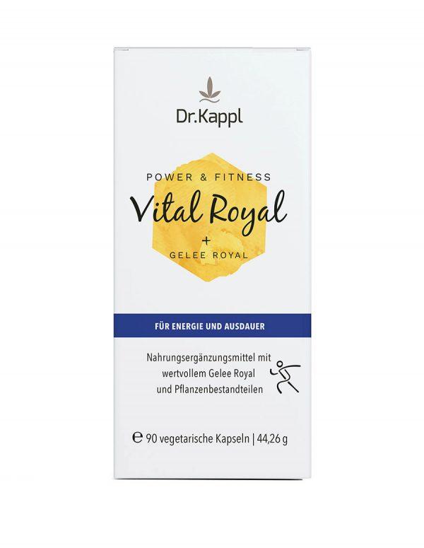 Dr. Kappl Vital Royal für Energie und Ausdauer