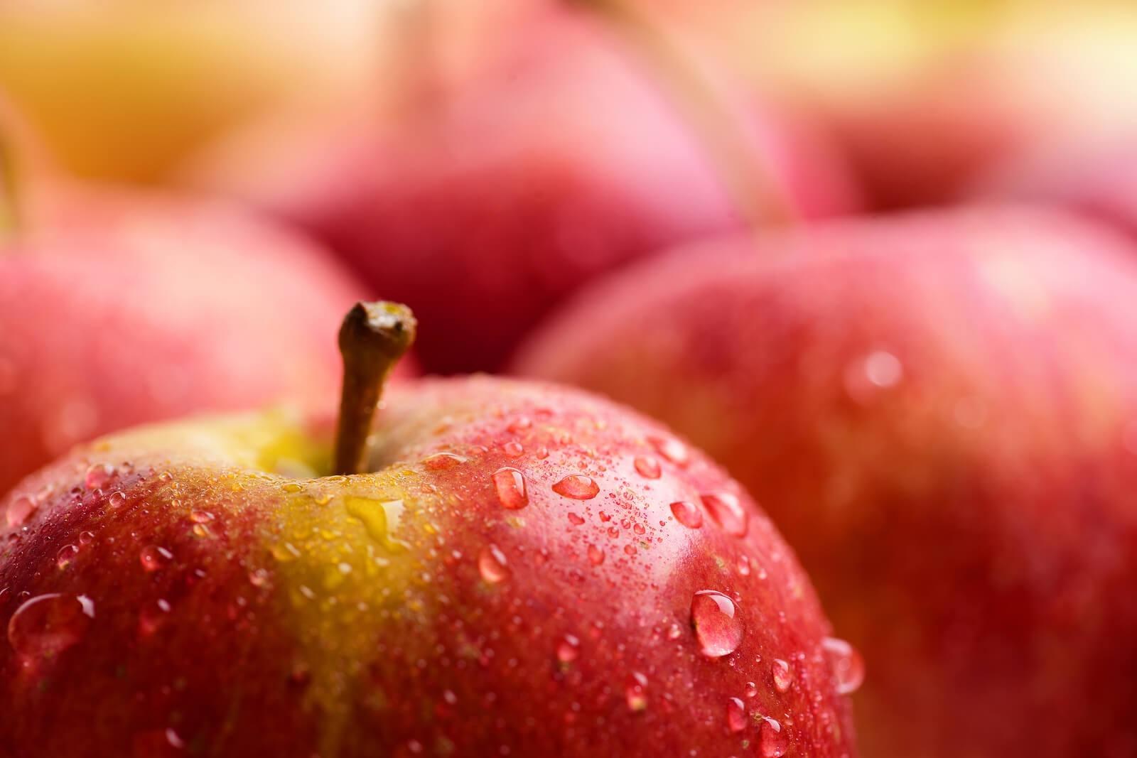 der Apfel, ein guter Darm-Helfer