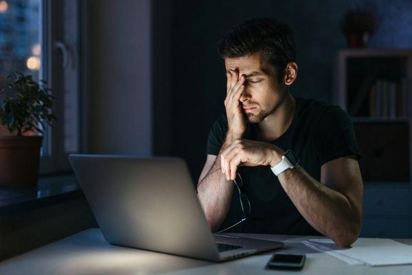 Stress als Ursache von Energiemangel